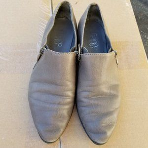 Franco Sarto Kristof Ankle Zip Up Leather Booties